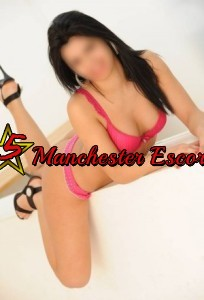 Sexy Yasmin from 5 Star Manchester Escorts